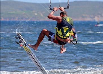 Kite Surf nel Golfo di Palmas